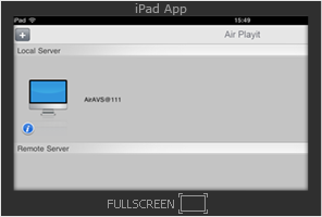 Air Playit iPad app